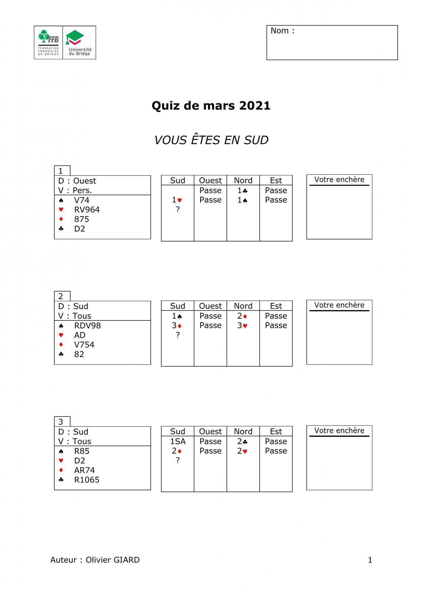 Formation continue des moniteurs quiz janvier 2021 001