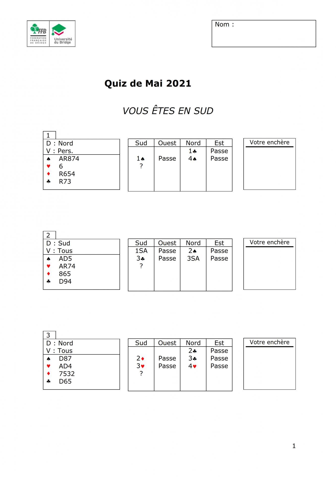 Formation continue des moniteurs quiz mars 2021 8