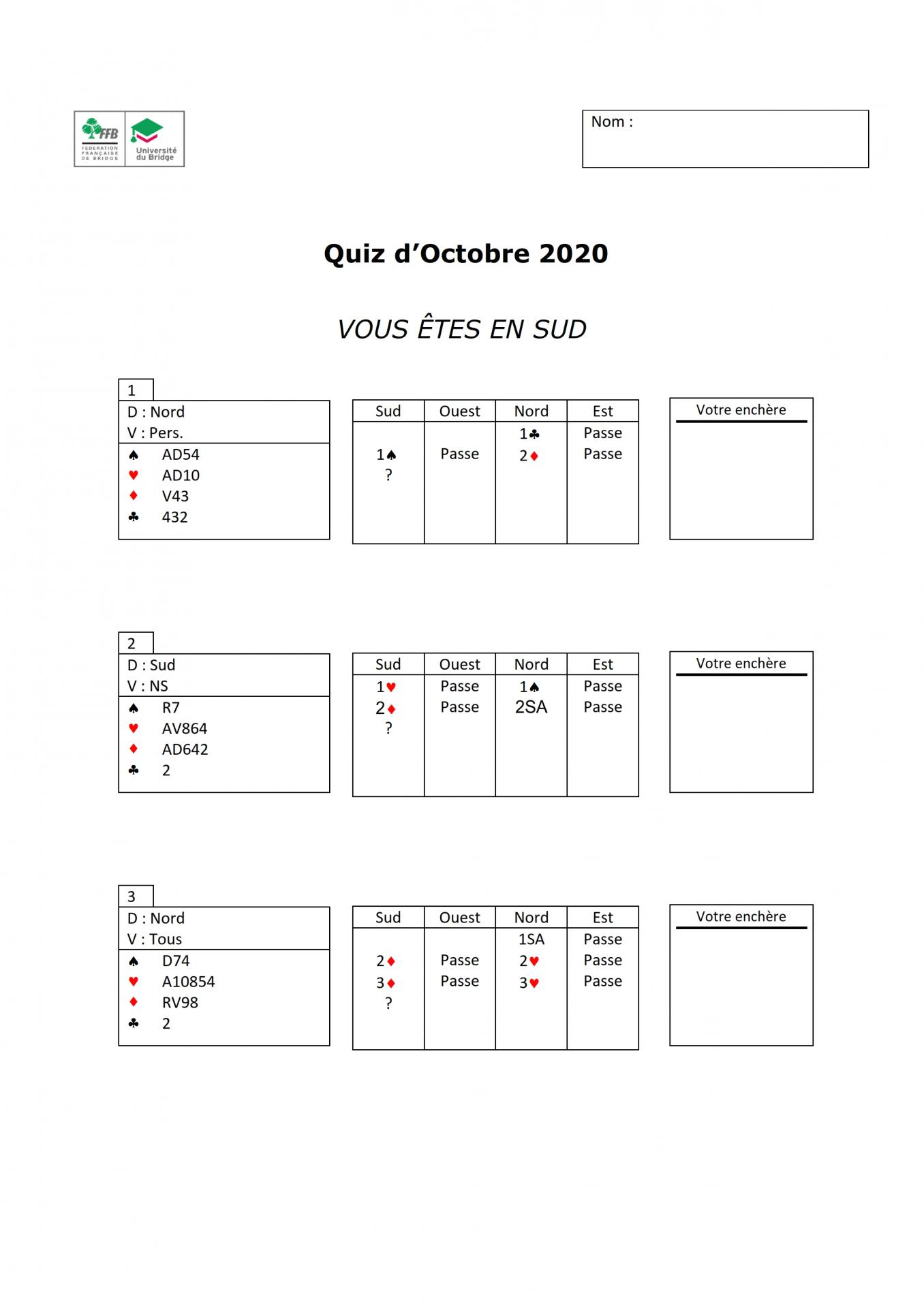 Quiz moniteurs questions octobre 2018 001